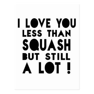 Squash Designs Postcard