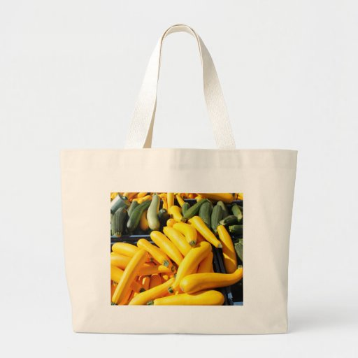 Squash in Yellow and Green Canvas Bag