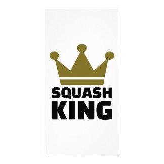 Squash King Photo Greeting Card