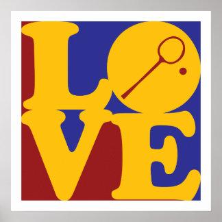 Squash Love Poster