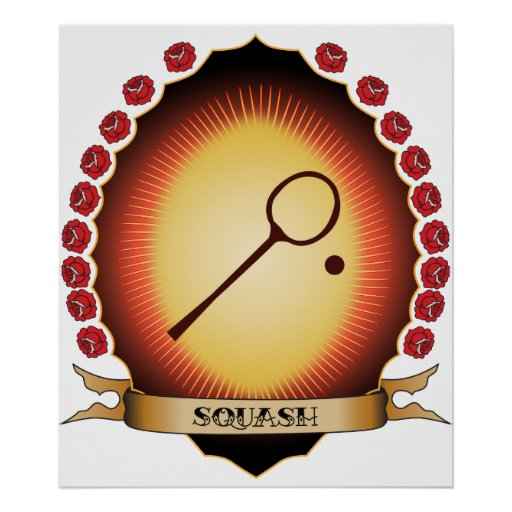 Squash Mandorla Posters