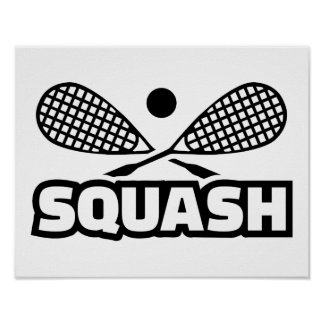 Squash Poster