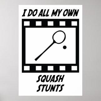 Squash Stunts Poster