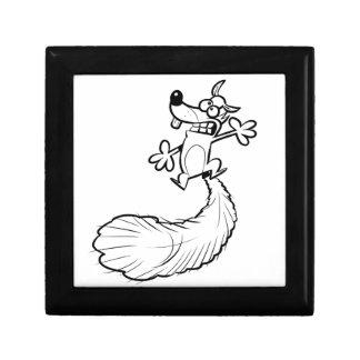 Squashed Squirrel B/W Gift Box