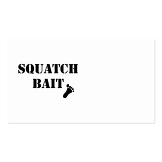 Squatch Bait Pack Of Standard Business Cards