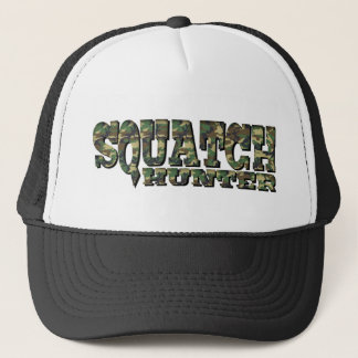 Squatch Hunter - Camo Pattern Trucker Hat