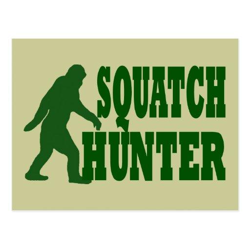 Squatch hunter post cards