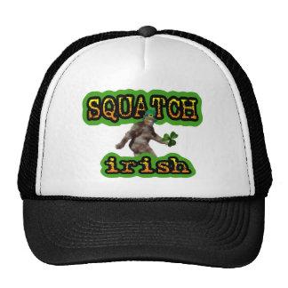 squatch irish trucker hats