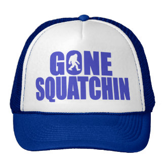 SQUATCH like a PRO in Bobo's GONE SQUATCHIN Cap
