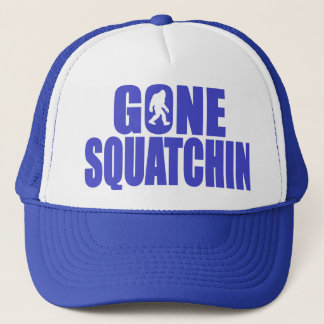 SQUATCH like a PRO in Bobo's GONE SQUATCHIN Trucker Hat