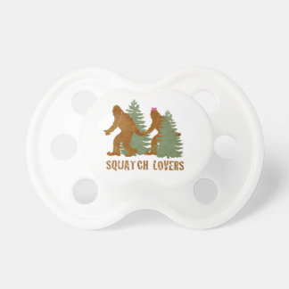 Squatch Lovers Pacifier