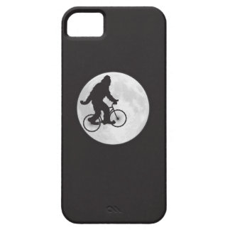 Squatch on a Bike In Sky With Moon T-shirt iPhone 5 Covers