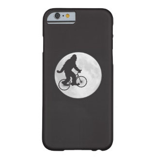 Squatch on a Bike In Sky With Moon T-shirt iPhone 6 Case