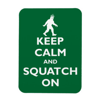 Squatch On Magnet