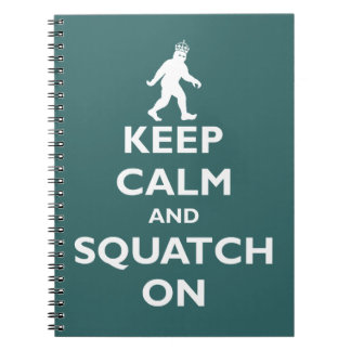 Squatch On Note Books