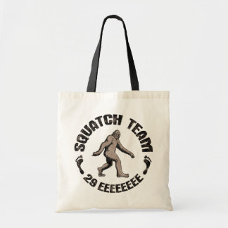 Squatch Team 29 EEEEEEEE Budget Tote Bag