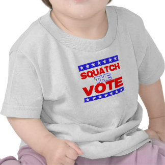 Squatch the Vote Tees