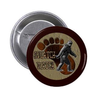 Squatch Watch 6 Cm Round Badge