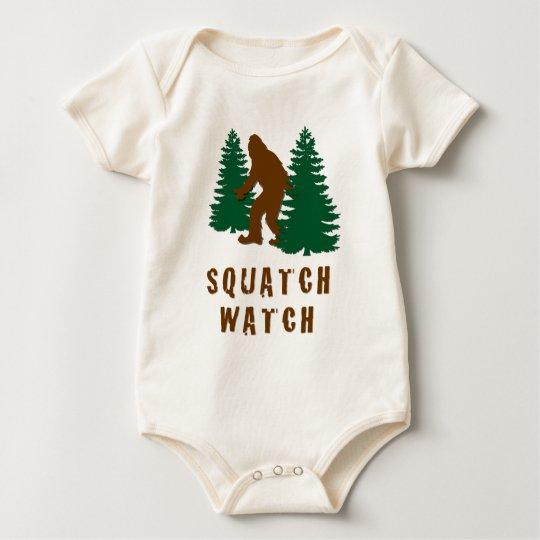 Squatch Watch Baby Bodysuit