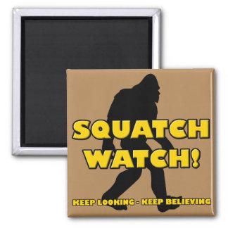 Squatch Watch Funny Sasquatch Bigfoot Yeti Magnet