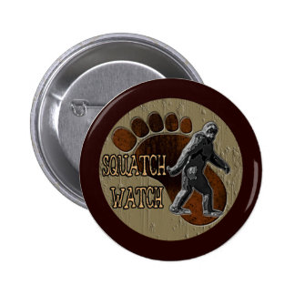 Squatch Watch Pinback Button