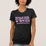 Squatch Watch - Pink Distressed Grunge Letters