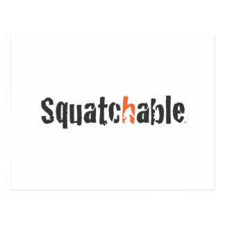 Squatch Wear and More Postcard