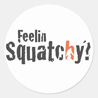 Squatch Wear and More Round Sticker
