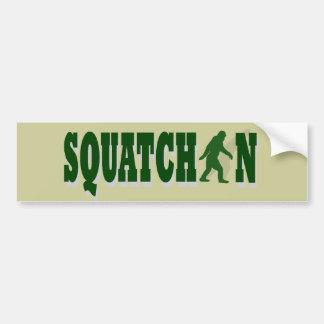 Squatchin Bumper Sticker