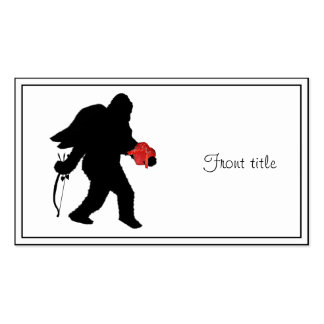 Squatchin Into Your Heart Pack Of Standard Business Cards