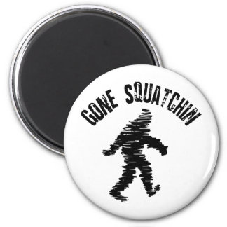 Squatchin' Fridge Magnet