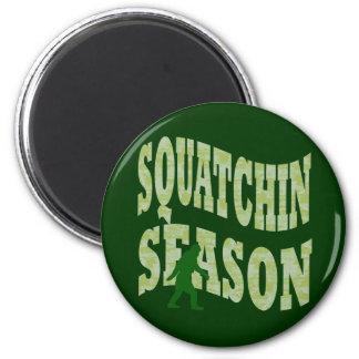 Squatchin Season 6 Cm Round Magnet