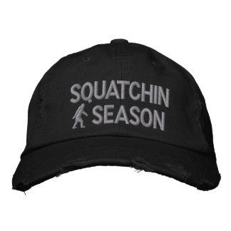 Squatchin season embroidered hat
