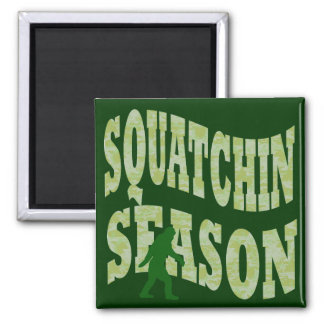 Squatchin Season Fridge Magnets