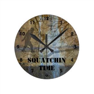 Squatchin time wallclock
