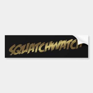 SQUATCHWATCH Sasquatch Bumper Sticker