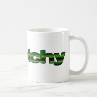 squatchy basic white mug