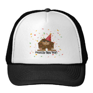 Squatchy New Year Cap