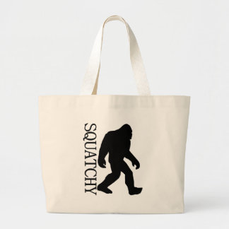 SQUATCHY SILHOUETTE Shirt - Special *BFRO* Edition Canvas Bags