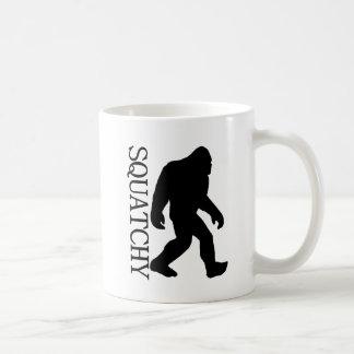 SQUATCHY SILHOUETTE Shirt - Special *BFRO* Edition Coffee Mug