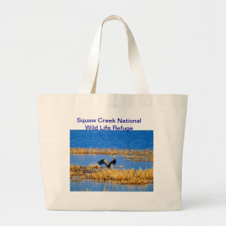 Squaw Creek Refuge tote bag