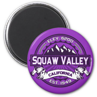 Squaw Valley Color Logo Magnet Magnet