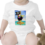 Squawk like a Pirate Day Baby Bodysuits