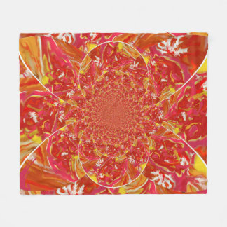 Squazzle Kaleidoscope Art fleece blanket
