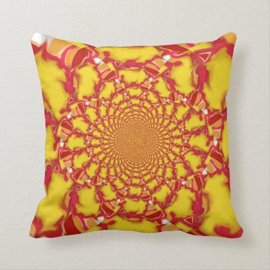 Squazzle Kaleidoscope Design 2 Cushion