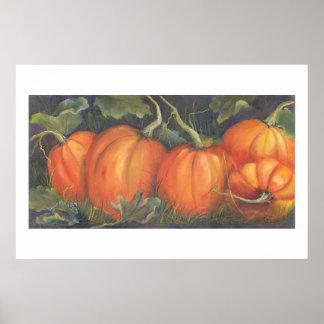 Squeaker's Pumpkins Poster