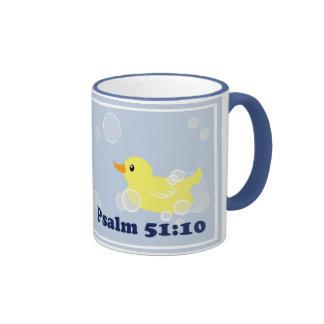 Squeaky Clean Rubber Duckie Mug
