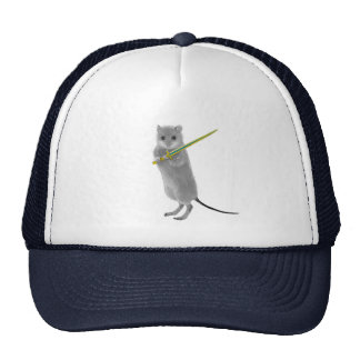 Squeaky, Warrior Mouse Cap