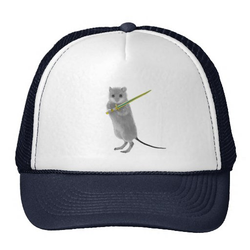 Squeaky, Warrior Mouse Hats