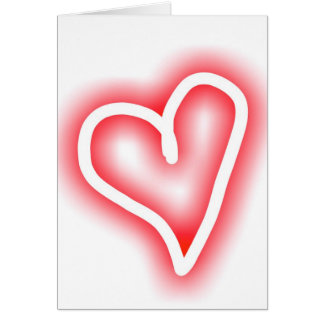 """""""Squee"""" romantic Valentine's Day card"""